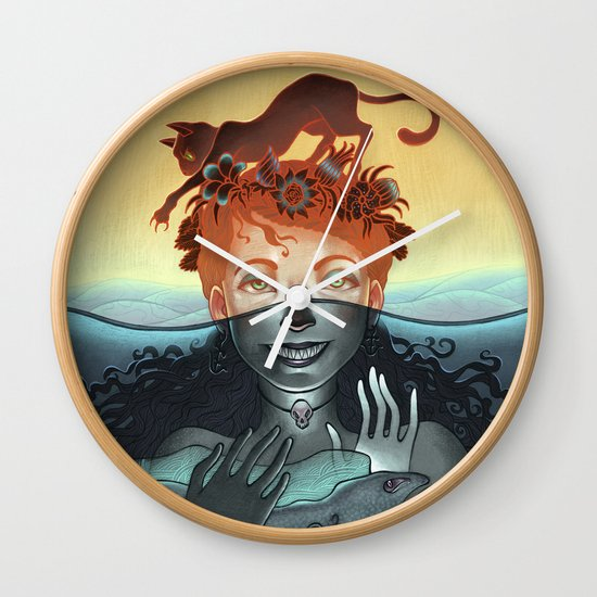 Dinner for Two Wall Clock