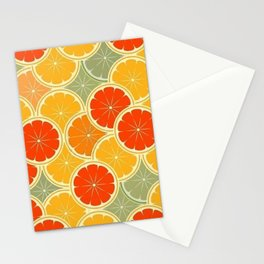 Summer Citrus Slices Stationery Cards