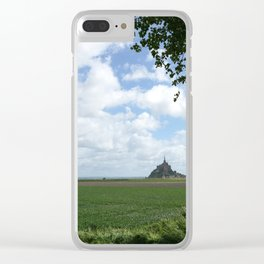 Le Mont Saint Michel 9 Clear iPhone Case