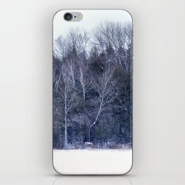 Purple Woods iPhone Skin