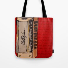 Bob Dylan's Harmonica  Tote Bag