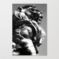 A King's Profile Canvas Print