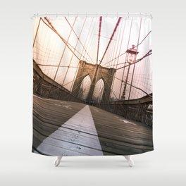 Brooklyn Bridge, New York City Shower Curtain