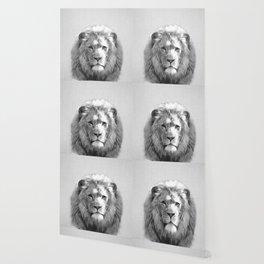 Lion - Black & White Wallpaper