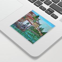 Nesso, Lake Como Sticker