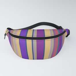 awning stripe Fanny Pack