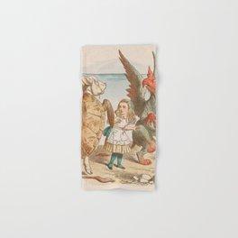 Scene from Alice in Wonderland Hand & Bath Towel