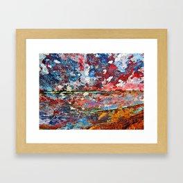 Impression Sunset I Framed Art Print