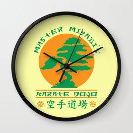 Bonsai Karate Dojo Wall Clock