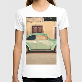 Vintage Beetle (Color) T-shirt