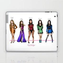 Fifth Harmony: Color names Laptop & iPad Skin