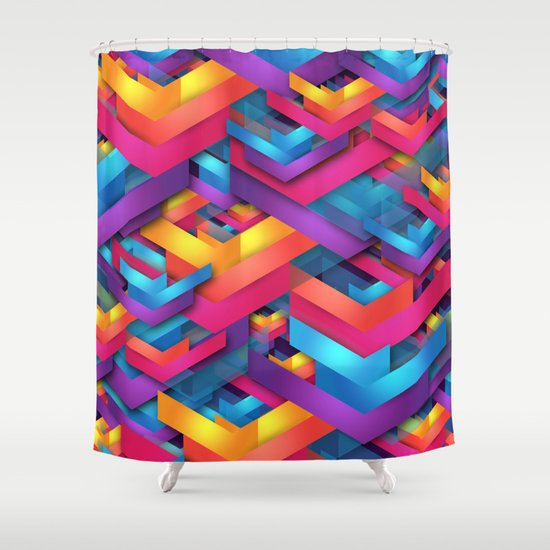 Own Luck Shower Curtain