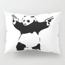 Panda, Banksy, Graffitti Pillow Sham