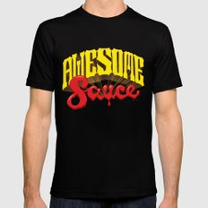 Awesome Sauce Black MEDIUM Mens Fitted Tee