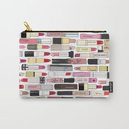 Lipstick War Carry-All Pouch