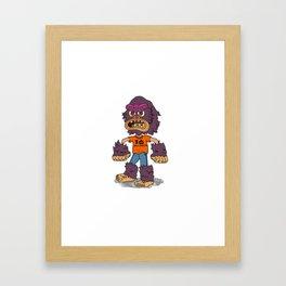 The Costume Kid Framed Art Print