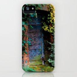 Lewis Carroll's Garden iPhone Case