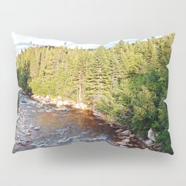 Mountain Forest River Pillow Sham