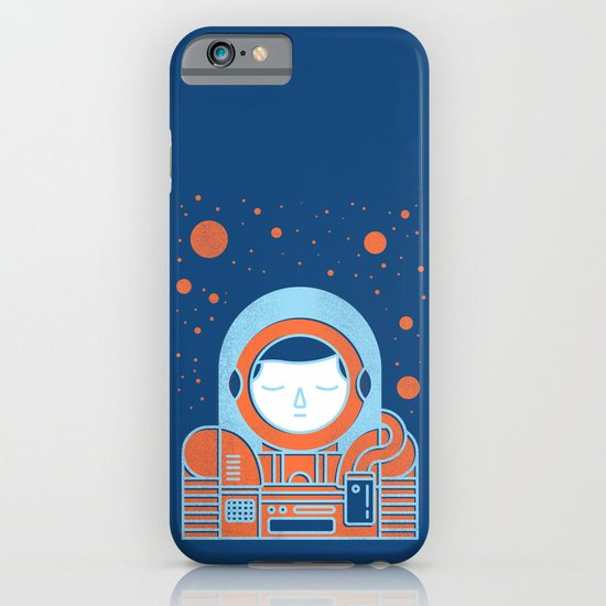 Orange Space iPhone & iPod Case