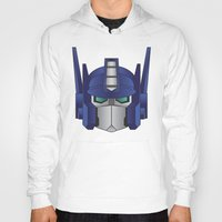 optimus prime Hoodies featuring Optimus Prime by Tombst0ne