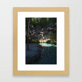 Cenote Framed Art Print
