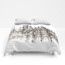 Cathedral ink Comforters
