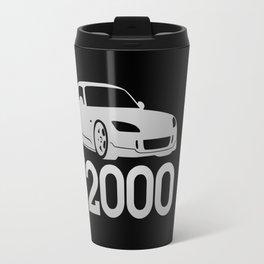 Honda S2000 - silver - Travel Mug
