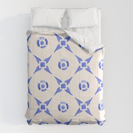 Vintage Delftware Comforters