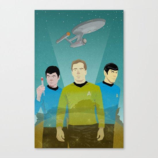 The Enterprise Trio  Canvas Print