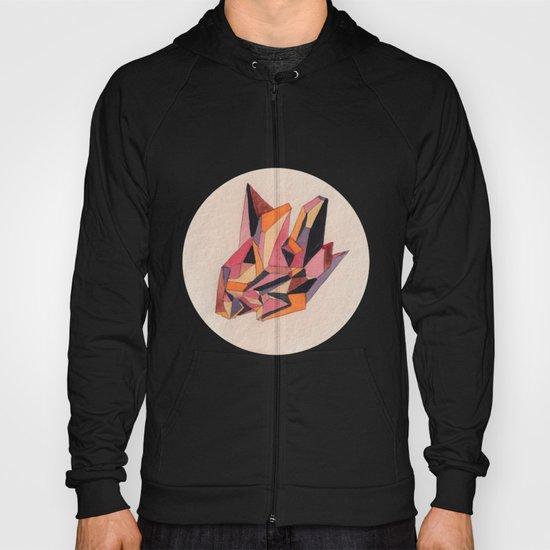 Warm Geometric Watercolour Hoody