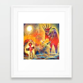 Opening & Receiving The Ways Framed Art Print