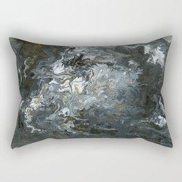 Rustic Fluidity Rectangular Pillow