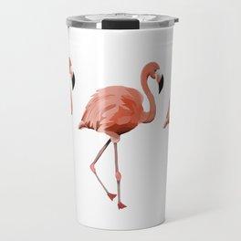 A Flamboyance of Flamingoes - Flamenco - 57 Montgomery Ave Travel Mug