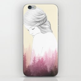 Pine Forest iPhone Skin
