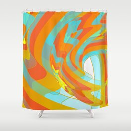 Along for the Ride Shower Curtain