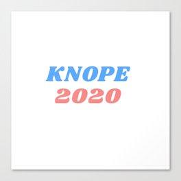 knope 2020 Canvas Print