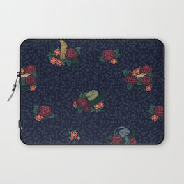 Floral Raptor Laptop Sleeve
