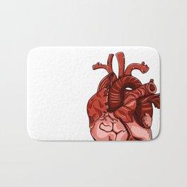 The Heart Bath Mat