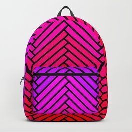 Parquet All Day - Black & Rosé Backpack