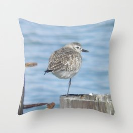 resting piper Throw Pillow