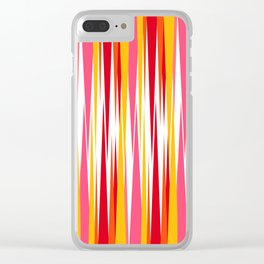 Abstract 213 Clear iPhone Case
