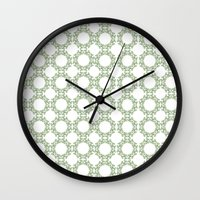 romantic Wall Clocks featuring Romantic by Yasmina Baggili