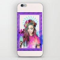libra iPhone & iPod Skins featuring Libra by Sara Eshak