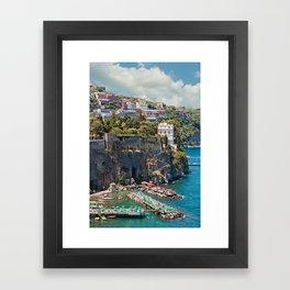 Italy - Sorrento Framed Art Print