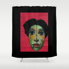 Stichted and Beautiful Shower Curtain