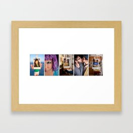 The Trio  Framed Art Print