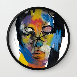 Stains 27 Wall Clock