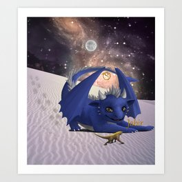 Dragonlings of Valdier: Jabir Art Print