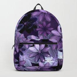 Ultra Violet Anemones of Tillandsia Backpack
