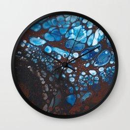 Ice Melt Wall Clock